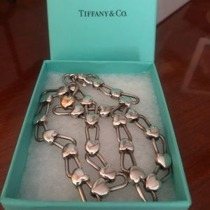 Tiffany & Co. Continuous Heart Necklace